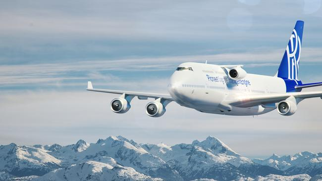 Different engines will be able to be tested on the 19-year-old Boeing 747-400.