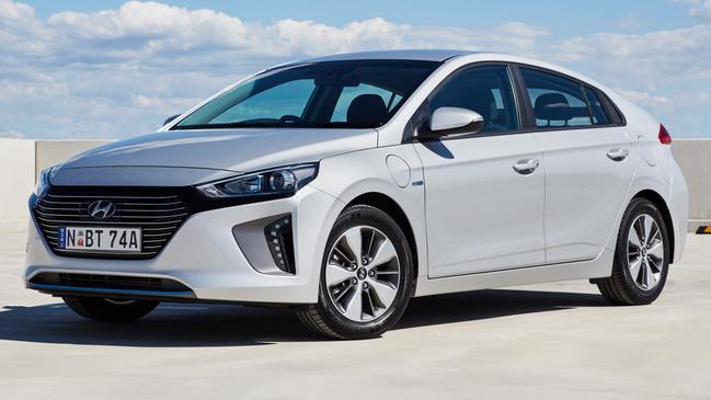 The Hyundai Ioniq is the country's cheapest EV.