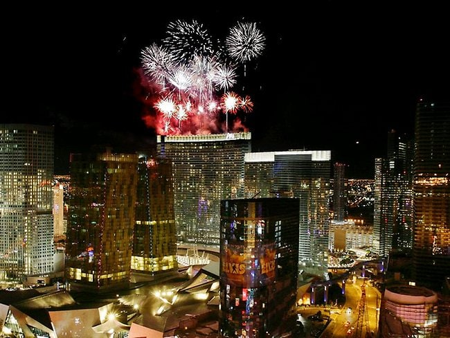 Party on in Las Vegas. AP Photo/Laura Rauch
