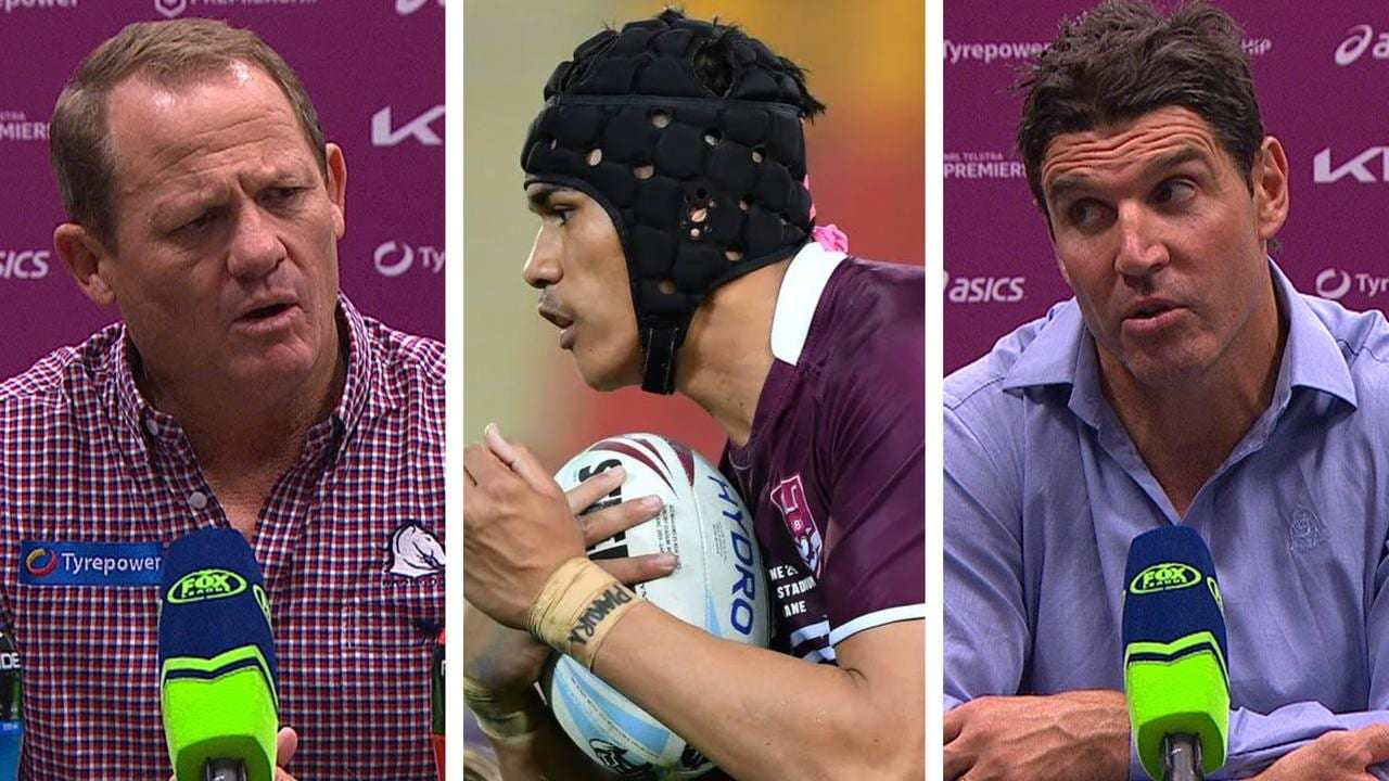 'Not aware of that mate': Kevvie mystified as Barrett lets slip Broncos young gun's future – Fox Sports