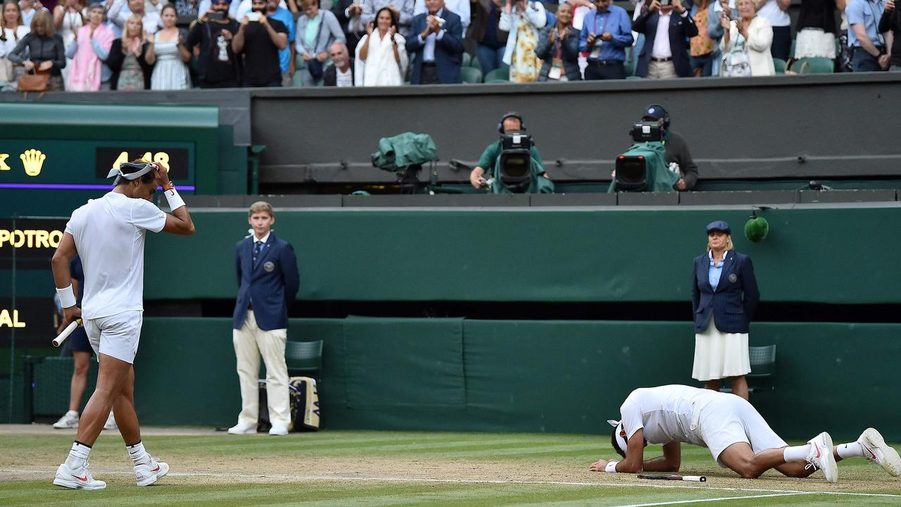 Nadal's act of sportsmanship enhanced his reputation as one of the sport's nice guys.