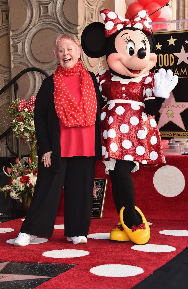 Russi Taylor was the voice of Minnie Mouse for over three decades. Picture: Getty