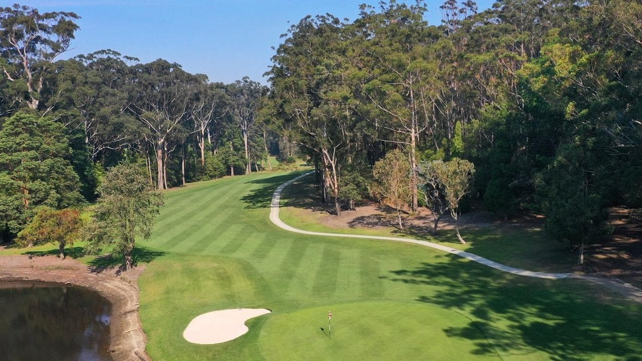 A golfer in his 50s died at Mollymook Golf Club when a tree branch fell on his head. Picture: Facebook