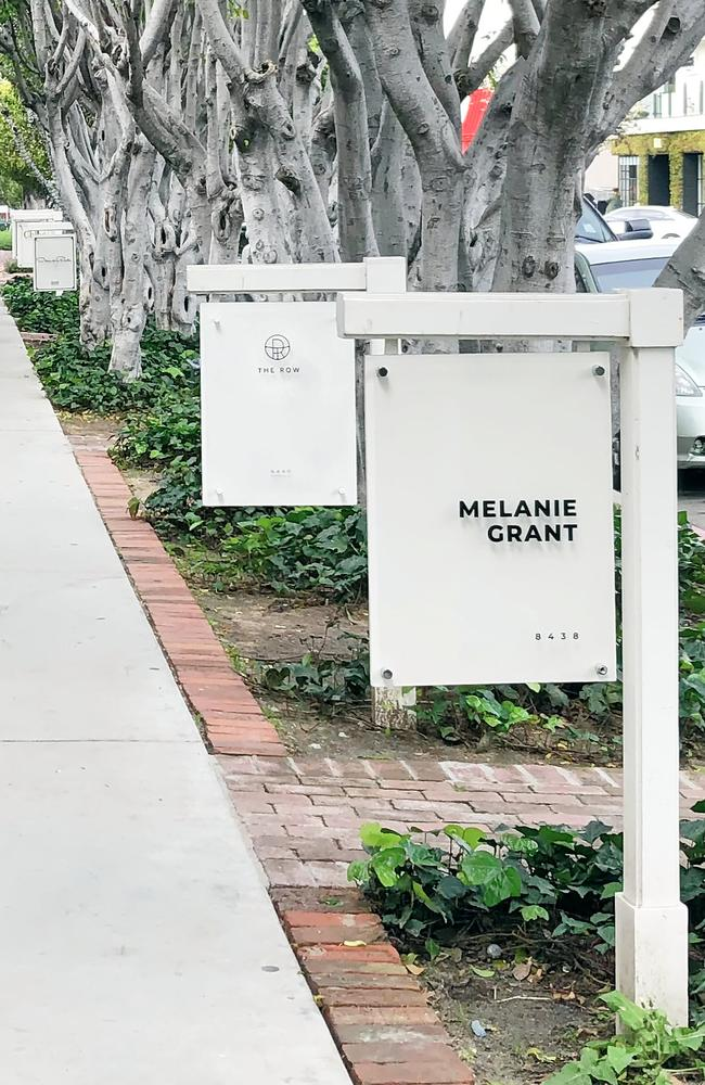 Melanie Grant has opened her first US location on Melrose Place in West Hollywood, with Kim Kardashian among her clientele. Picture: Supplied