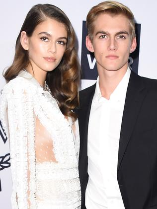 Kaia and Presley Gerber are both models. Picture: Getty