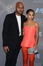 Twin Shadow and Zoe Kravitz attends the 21st Annual Critics' Choice Awards on January 17, 2016 in California. Picture: Getty