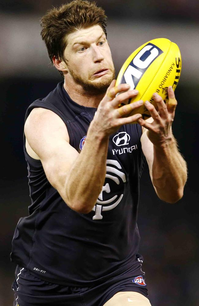 Rowe in action against St Kilda. Picture: Herald Sun