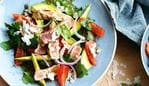 SA Home mag: Delicious recipes - Ploughman's salad, Chargrilled Tuna with Avocado