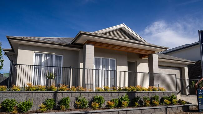 Oakford Homes' Horizon display home at Hallett Cove. Picture: Nick Clayton.