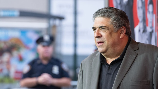 Actor Vincent Pastore, from The Sopranos, was also said to be a pal of DiRubba. Source:Getty Images