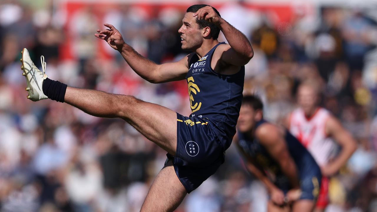 Alec Waterman had an awesome WAFL season for Claremont. Picture: Paul Kane