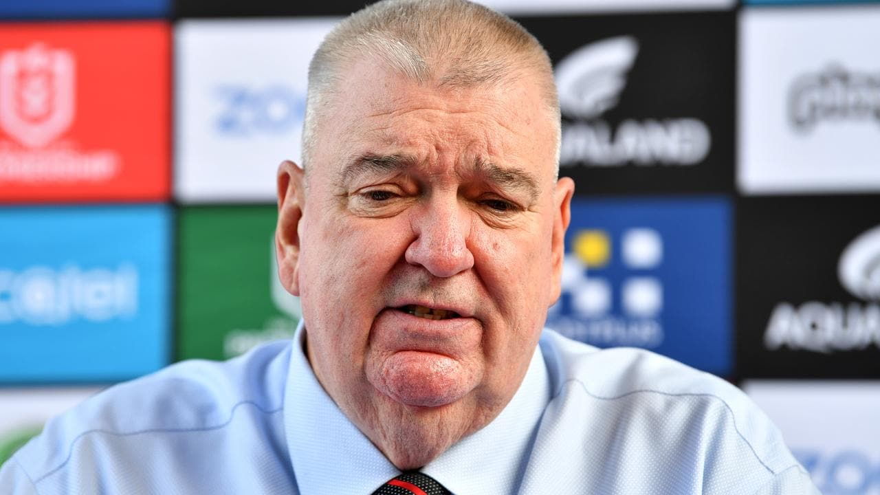 Former South Sydney boss Shane Richardson received a payout after stepping down.