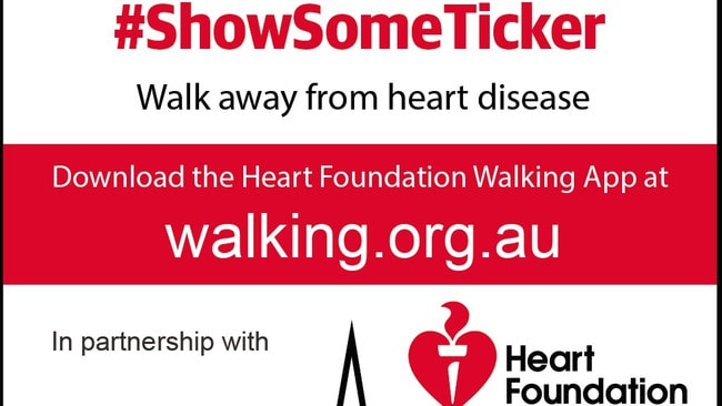 You can join a walking group, start your own or track your individual progress with the Heart Foundation.