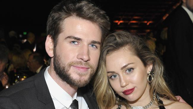 Things might not be over yet for Liam Hemsworth and Miley Cyrus. Picture: John Sciulli/Getty Images for G'Day USA.