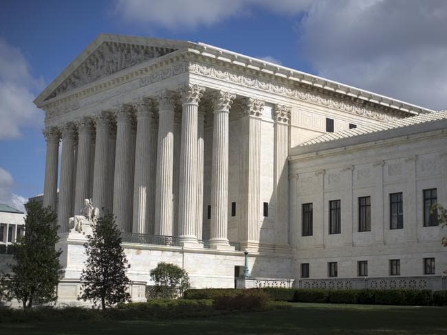 The US Supreme Court has made the historic decision. Picture: AP