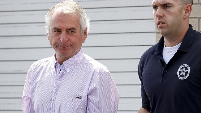 Collar bomber, Paul Douglas Peters, was sloppy about disguising his movements. Picture: AP