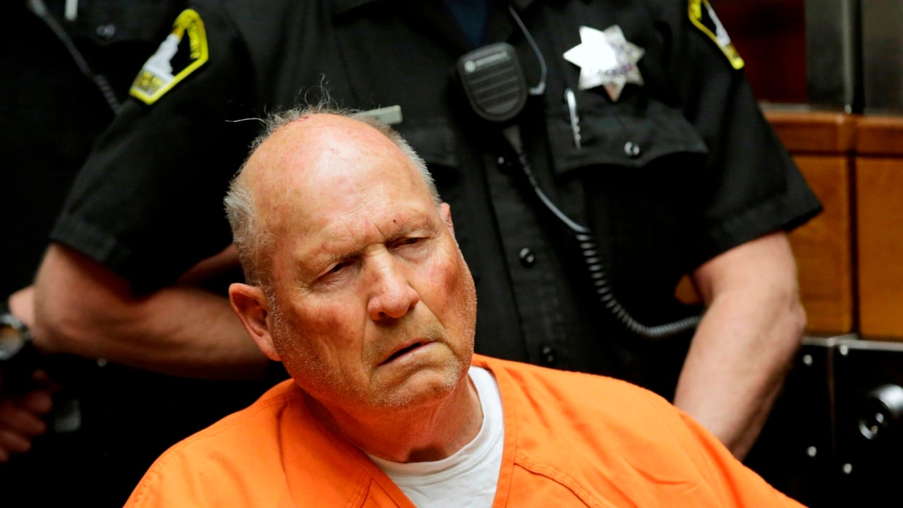 Golden State Killer faces a judge for the first time