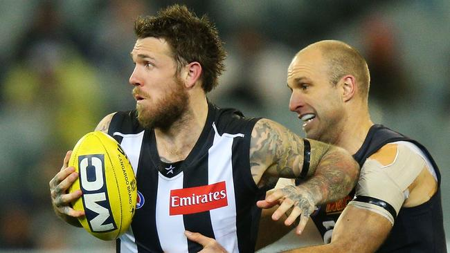Collingwood's Dane Swan has stepped down from SuperCoach throne.
