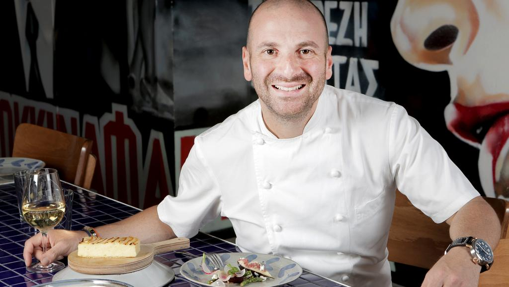 George calombaris might come to regret sending his child for Chef comes to your house