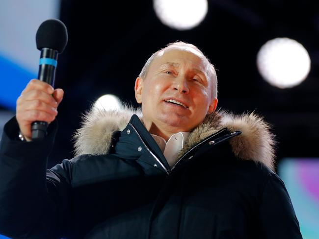 President Vladimir Putin said claims that Russia was behind the recent poisoning of a spy in the UK was nonsense. Picture: Alexander Zemlianichenko/AFP