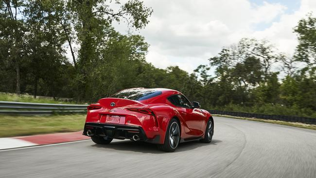 Only 300 examples of the Supra will be made available to Australian customers in the first 12 months.