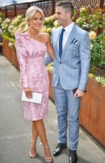 The 2016 Melbourne Cup day of racing at Flemington Racecourse. Jesse Habermann and Marc Murphy. MelbourneCup2016. Picture: Jason Edwards