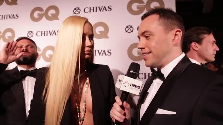 Iggy Azalea tells us how it really is between her and Adam Lambert | GQ awards 2016