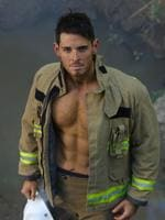 NSW firefighter Sam Rouen (Biggest Loser). Picture: Brett Cunliffe/Australian Firefighters Calendar