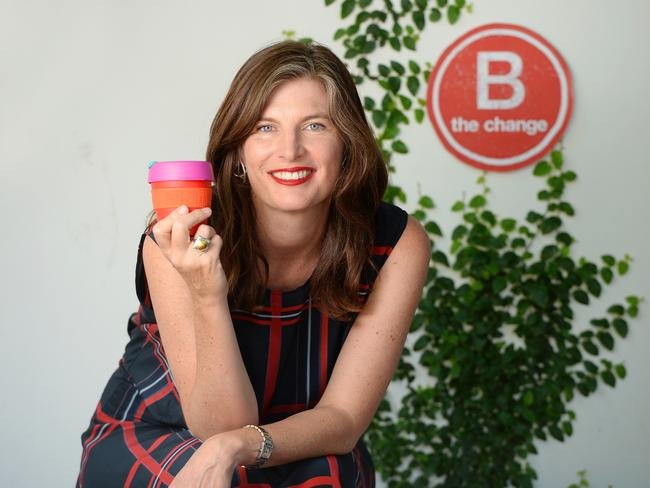 KeepCup co-founder Abigail Forsyth. Picture: Josie Hayden