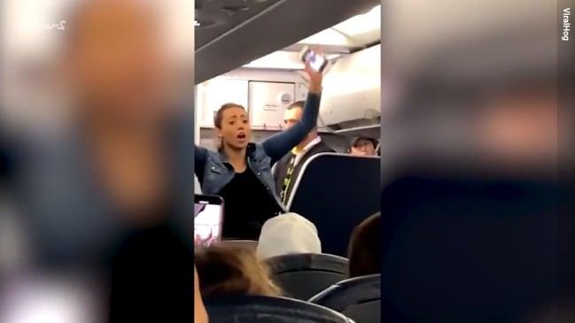 'Drunk' Spirit Airlines passenger has epic tantrum on flight