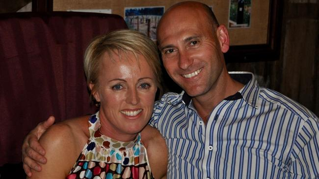 Former NSW Police officer Ashley Bryant and wife Deborah.