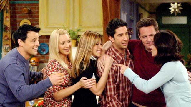 Jen paid tribute to her 'iconic' Friends co-stars. Picture: Everett Collection