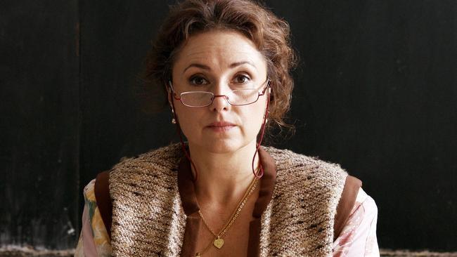 Zuzana Maurery as Maria Drazdechova in The Teacher.