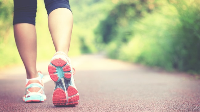 Walking increases our resting metabolic rate by 300%. Image: iStock