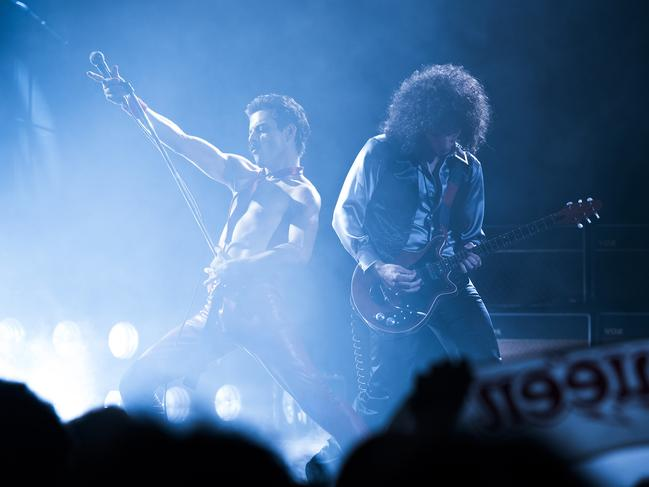 Despite problems with the storytelling, the concert scenes are electric. Picture: Alex Bailey/Twentieth Century Fox via AP