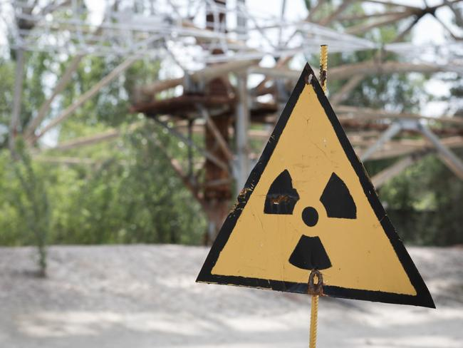 An iconic radiation warning sign. Picture: Erwin Zwaan