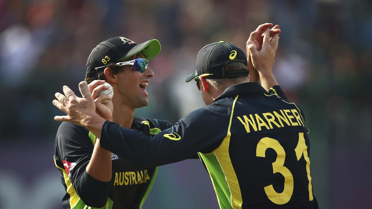 Ashton Agar is happy to see David Warner back involved in the cricketing world.
