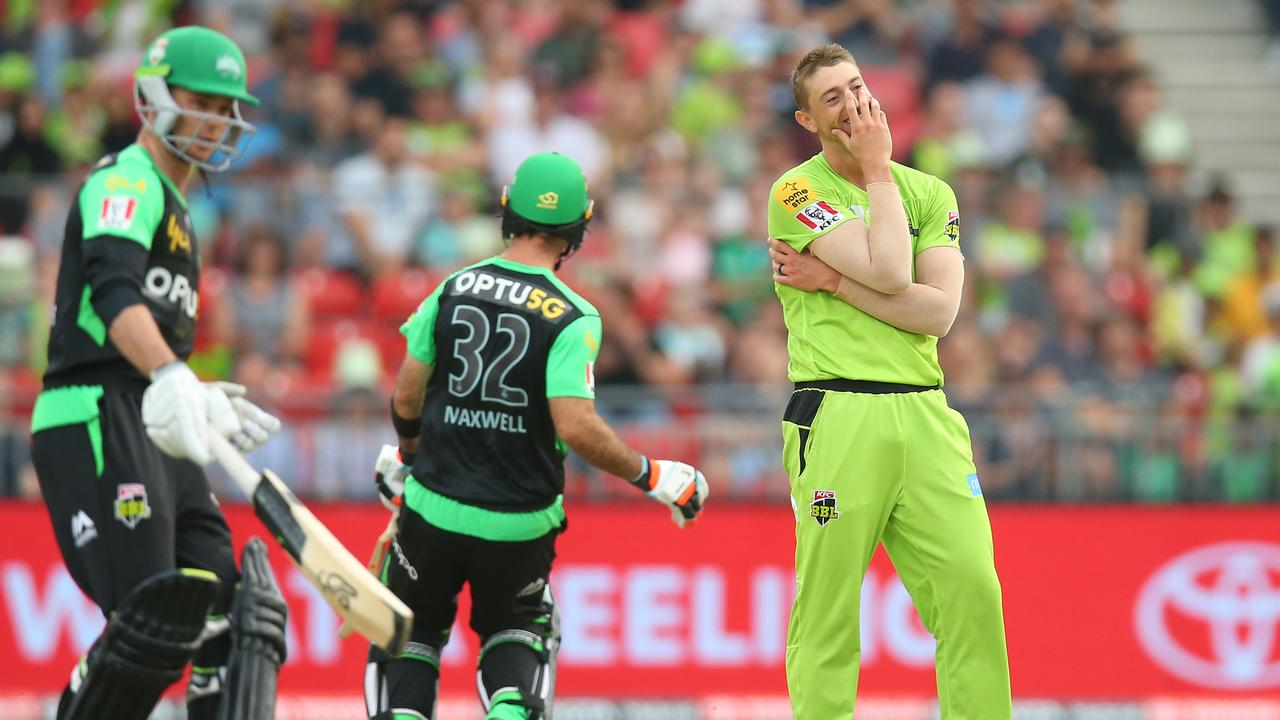 Daniel Sams is the BBL's leading wicket-taker this season.