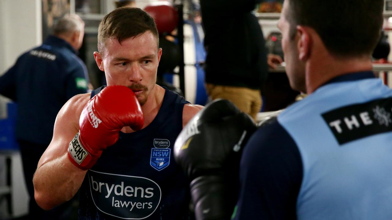 South Sydney and NSW Blues star Damien Cook says NRL players will have a week off to refresh before having to get back on the training horse.