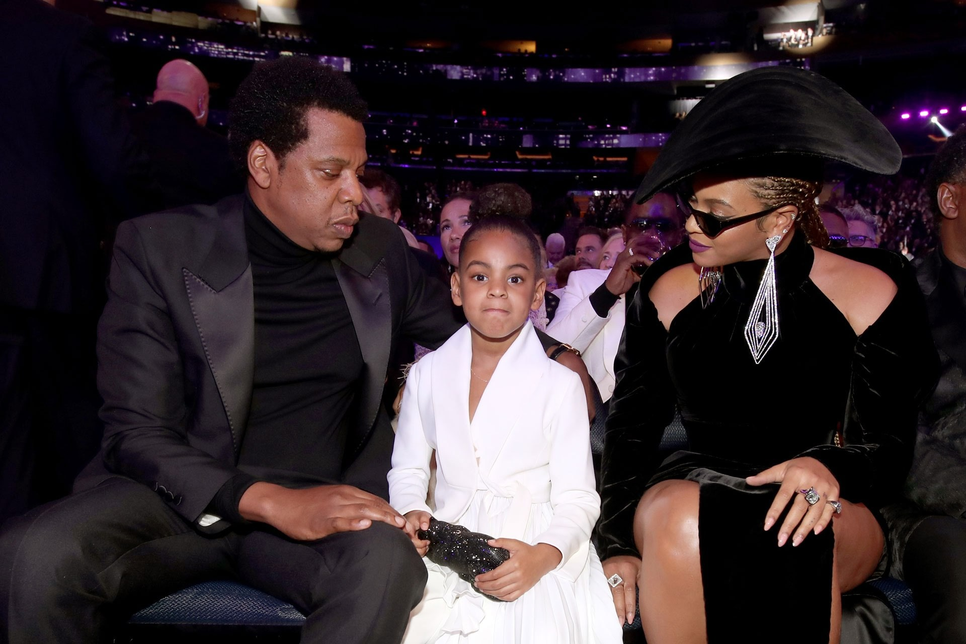Blue Ivy carried a $3000 Valentino bag to the Grammys
