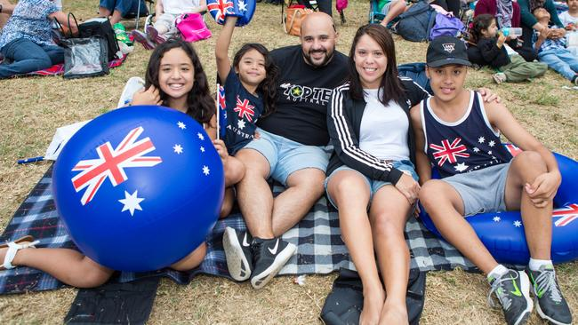 The debate surrounding Australia Day is intensifying and moves by councils to not hold citizenship ceremonies on January 26 has angered the government. Picture: Peter Dovgan