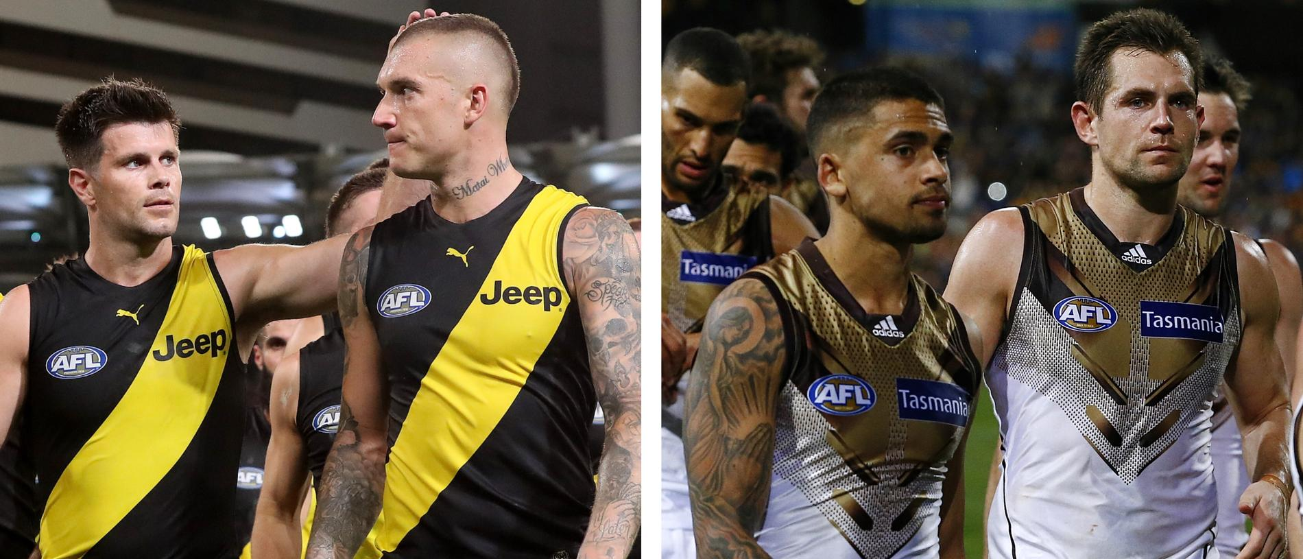 Richmond lost its first final, but so did Hawthorn in 2015 on route to a flag. TALKING POINTS