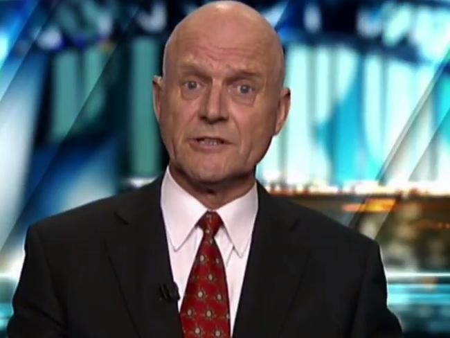 David Leyonhjelm on The Project 10 Jan 2017. Picture: Channel 10