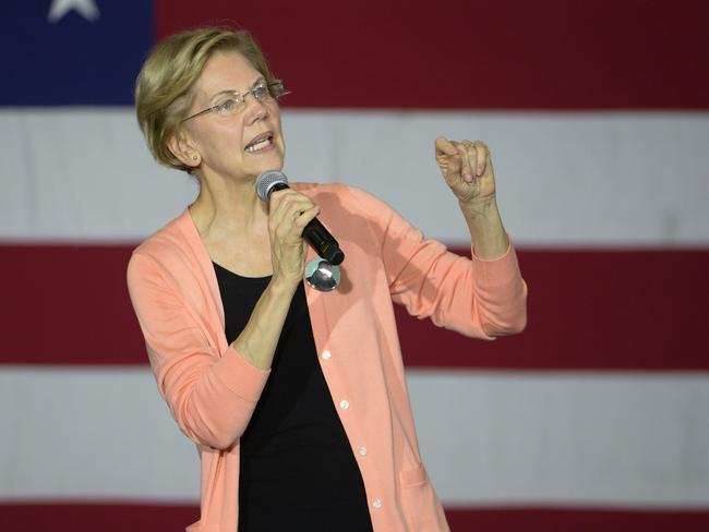 Michael Bloombeg is said to be concerned about the rise of progressive Massachusetts senator Elizabeth Warren.