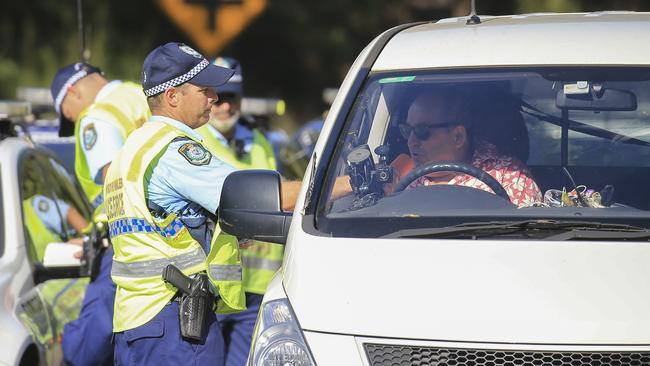 Double demerit points will remain until January 28. Picture: Dylan Robinson