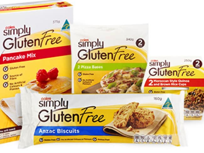 Coles Organic, Coles Simply Less and Coles Simply Gluten Free.