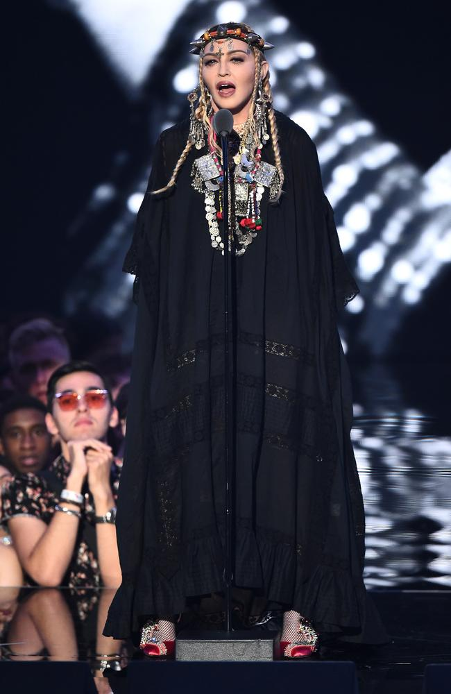 Madonna pays tribute to … Madonna? Picture: Getty
