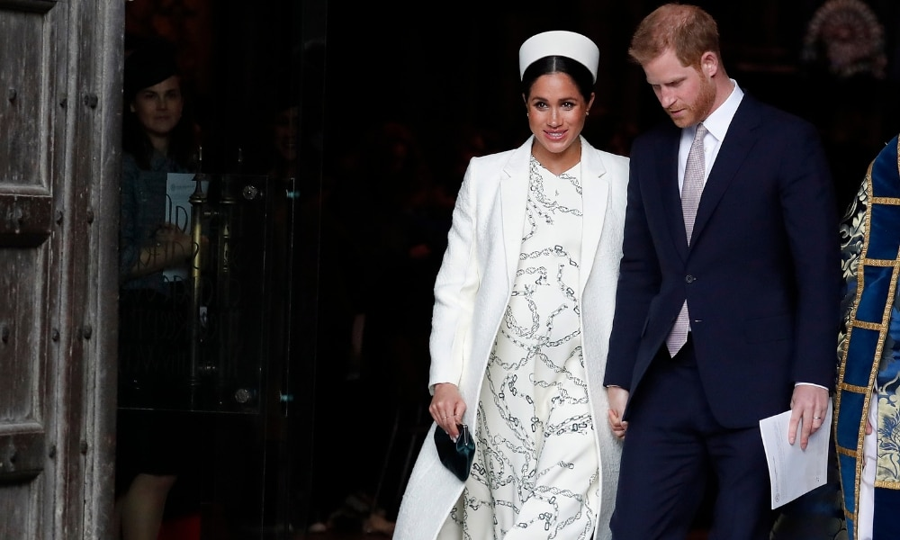 Harry and Meghan have their own Instagram account