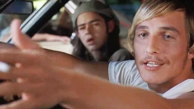 Matthew McConaughey's break out role was back in 1993 in Dazed and Confused.