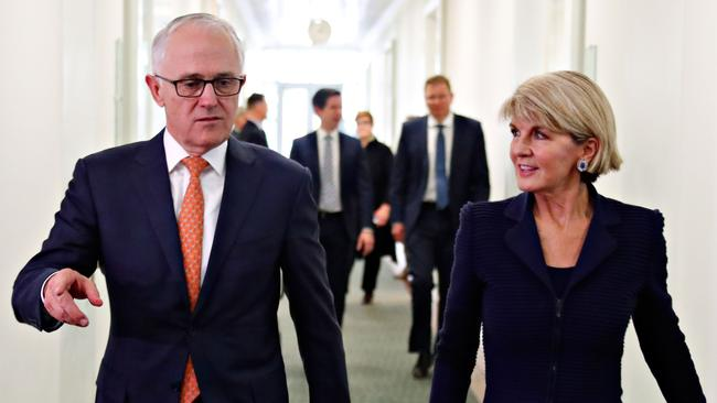 A range of measures show Australians are fed up with politicians and politics, due in part to the revolving door of prime ministers over the past decade. Picture: AFP